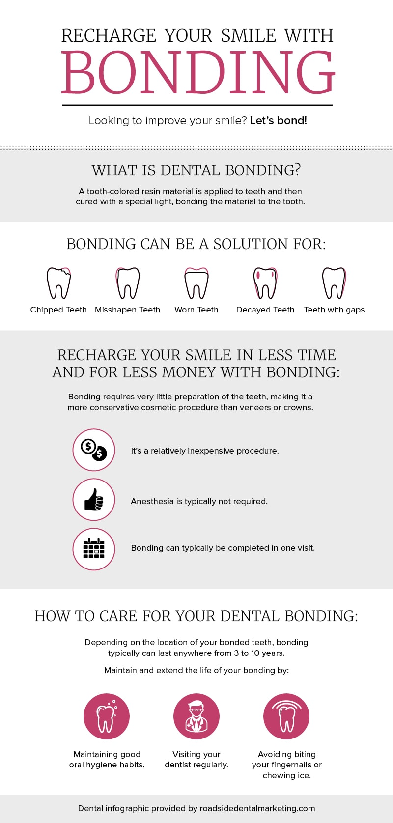 Recharge Your Smile with Dental Bonding