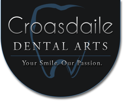 Croasdaile Dental Arts scroll logo
