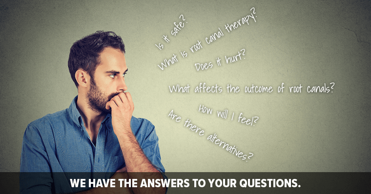 Answers to your top five root canal questions!