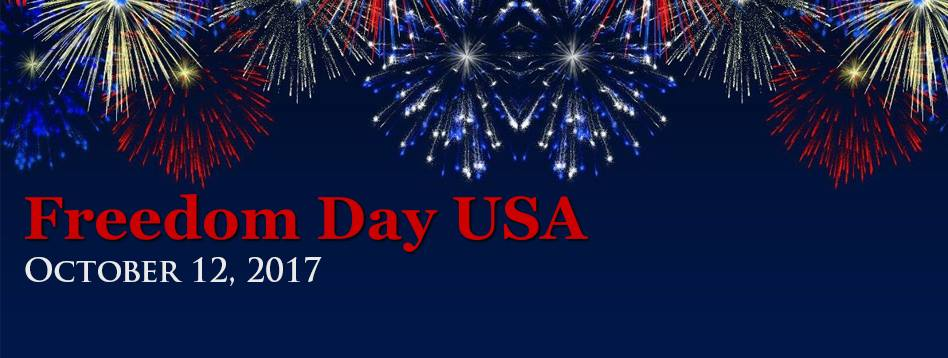 Freedom day Oct. 12