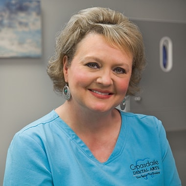 Kelly who is a dental assistant at Croasdaile Dental Arts