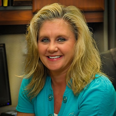 Kim C. who is part of the office team at Croasdaile Dental Arts