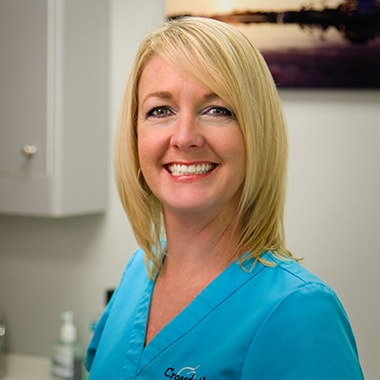 Kristy who is a dental assistant at Croasdaile Dental Arts