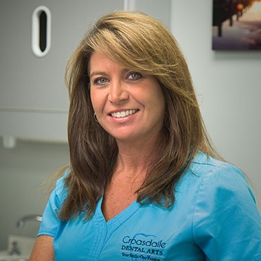 Rhonda who is a dental assistant at Croasdaile Dental Arts