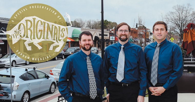 Dentists of Croasdaile Dental Arts featured in the Durham Magazine
