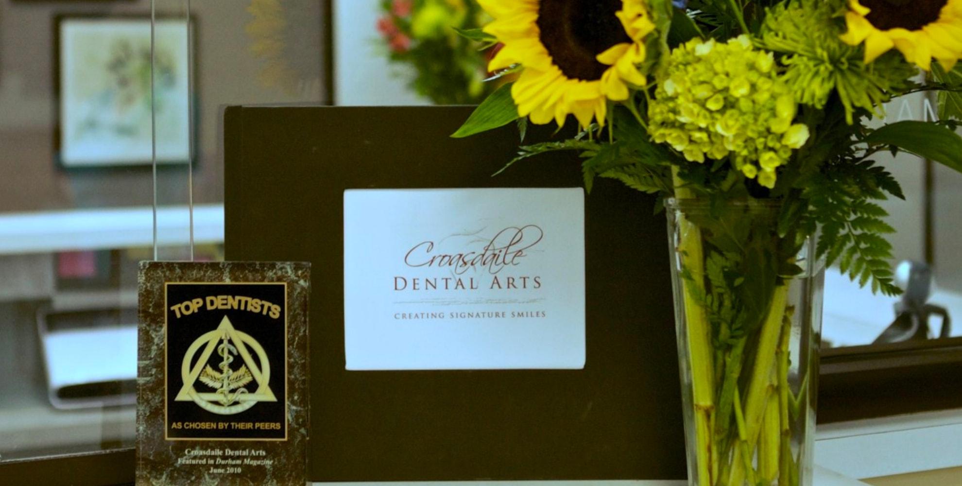 Croasdaile Dental Arts Top Dentist Award