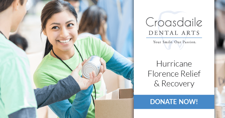 Croasdaile Dental Arts Hurricane Florence Relief & Recovery - Donate Now