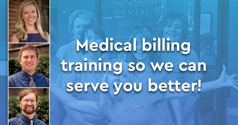 Medical billing training so we can serve you better!