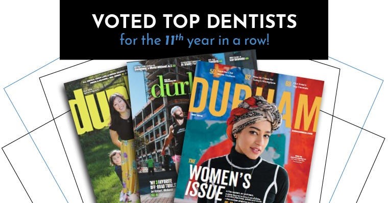 Voted Top Dentists for the 11th year in a row!