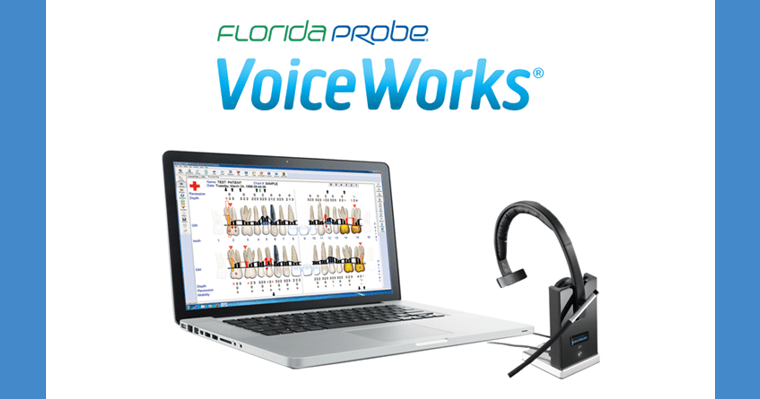 Voice-works hands-free perio system.